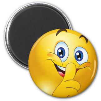 Shh emoji magnet