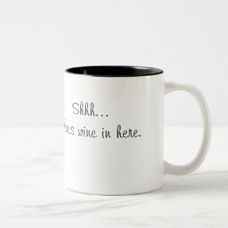 Shh... there's wine in here Mug