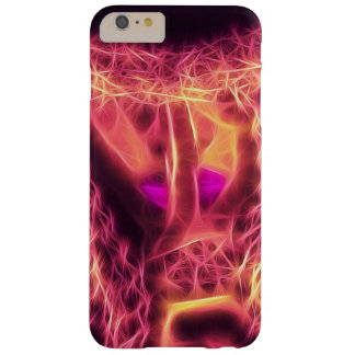 SHH?.Woman Finger lips Glow Art iPhone6 Plus Case Barely There iPhone 6 Plus Case