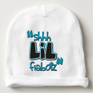 """Shhh LIL Fiabotz - """"Kidspressions"""" Collection Baby Beanie"""