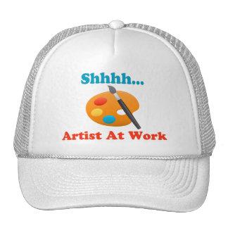 Shhhh Artist At Work Painter Cap