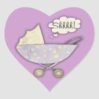 Shhhh! The Baby Sticker