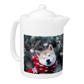 Shiba dog - doge dog - merry christmas