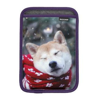 Shiba dog - doge dog - merry christmas iPad mini sleeve