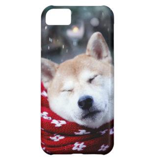 Shiba dog - doge dog - merry christmas iPhone 5C case