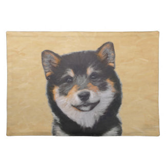 Shiba Inu (Black and Tan) Placemat