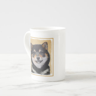 Shiba Inu (Black and Tan) Tea Cup