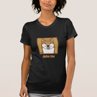 Shiba Inu Cartoon T-Shirt