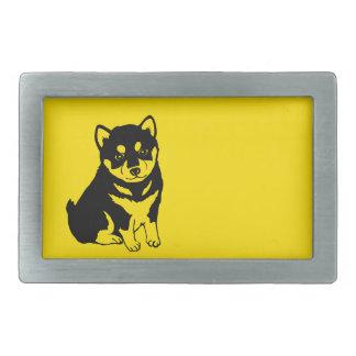Shiba Inu Chinese Dog Year 2018 Belt Buckle