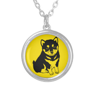 Shiba Inu Chinese Dog Year 2018 Round Necklace