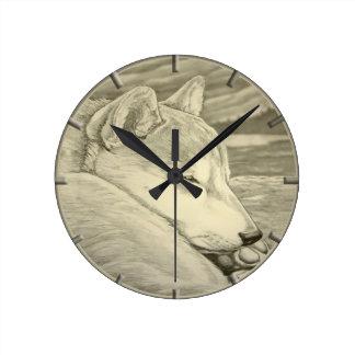 Shiba Inu Clock Gifts Decor 柴犬礼物 Wall Clock