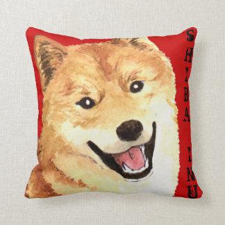 Shiba Inu Color Block Cushion