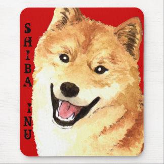 Shiba Inu Color Block Mouse Pad