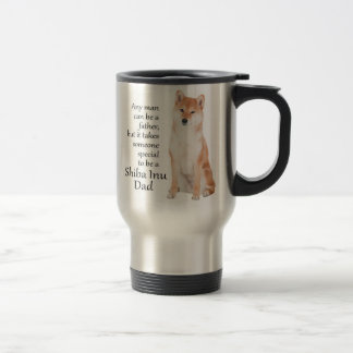 Shiba Inu Dad Travel Mug