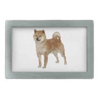 Shiba Inu Dog Belt Buckles
