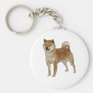 Shiba Inu Dog Key Ring
