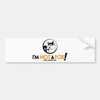Shiba Inu Gifts Car Bumper Sticker