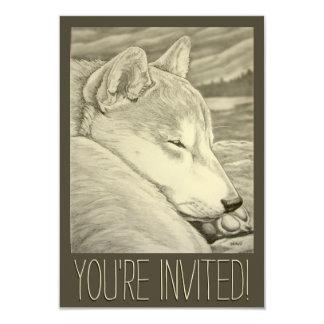 Shiba Inu Invitations Personalized Shiba Inu Cards