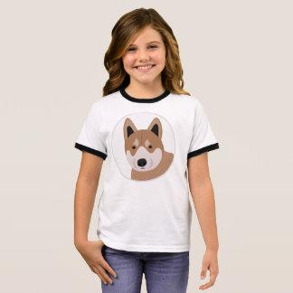 Shiba Inu Jpanese dog Ringer T-Shirt