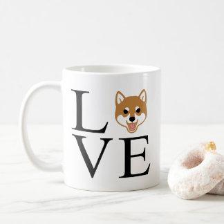 Shiba Inu Love Coffee Mug