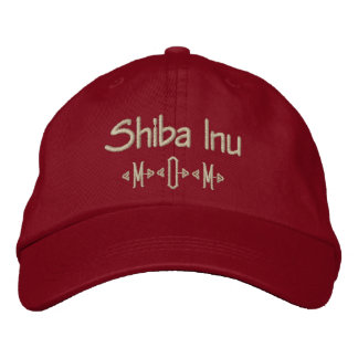Shiba Inu Mom Gifts Embroidered Hat