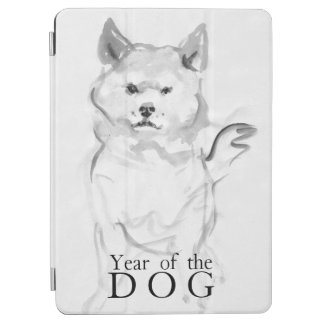 Shiba Inu Painting Chinese Dog Year 2018 iPad4 iPad Air Cover