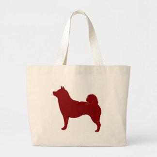Shiba Inu (Red) Large Tote Bag