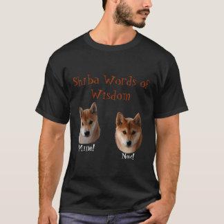 Shiba Inu Words of Wisdom T-Shirt
