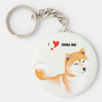 Shiba key ring inu