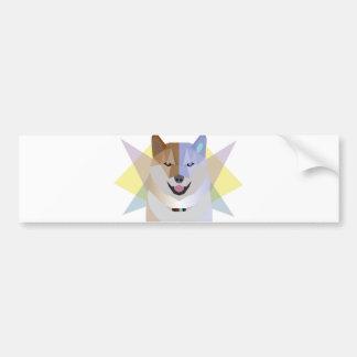 Shiba Luv Bumper Sticker