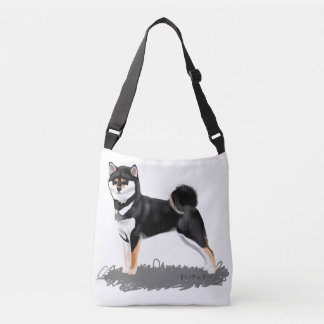 Shiba Sam Browne belt inu Crossbody Bag
