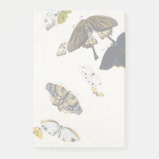 Shibata Zeshin Butterflies Post-it Notes