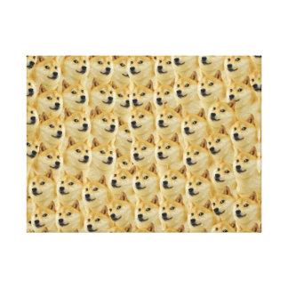 shibe doge fun and funny meme adorable canvas prints
