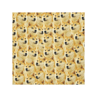 shibe doge fun and funny meme adorable gallery wrap canvas