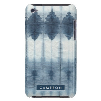 Shibori Indigio Print iPod Case-Mate Cases