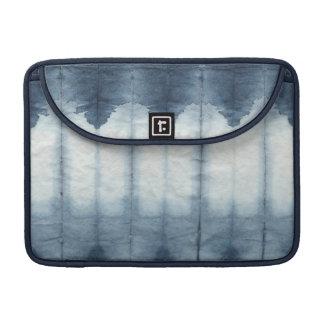 Shibori Indigio Print Sleeve For MacBooks