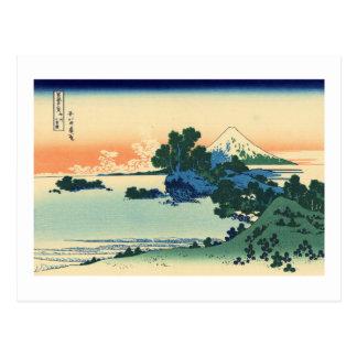 Shichiri Beach in Sagami Province Postcard