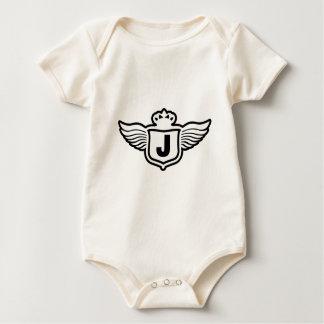 shield J f2.ai Baby Bodysuit