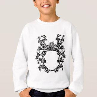 Shield Knight Heraldic Crest Coat of Arms Emblem Sweatshirt