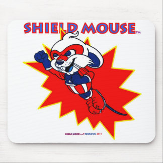 "SHIELD MOUSE  ""TAKE OFF!""  Mousepad"