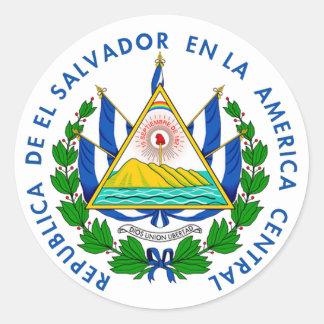 Shield of El Salvadore Sticker