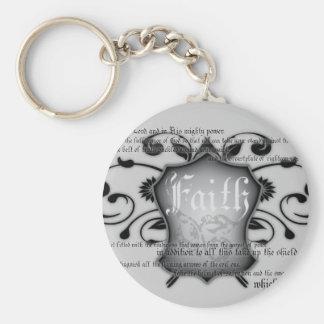 Shield of Faith (armor of God) Christian keychain