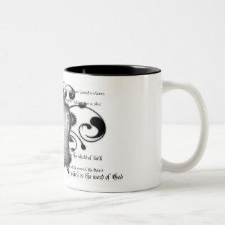 Shield of Faith (armor of God) Christian mug