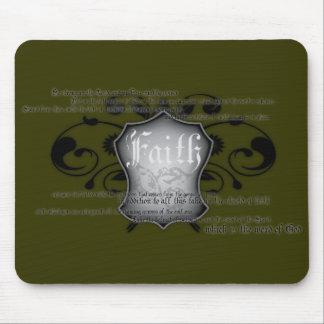 Shield of Faith (armor of God) mousemat