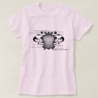 Shield of Faith (armor of God) women's t-shirt
