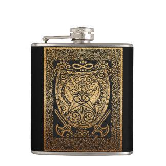Shield of glory hip flask