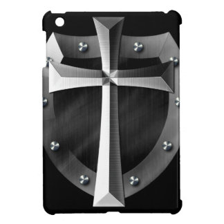 Shield of God Cross Metal Cool Ipad Case