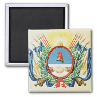 Shield of the Confederation of Argentina Square Magnet