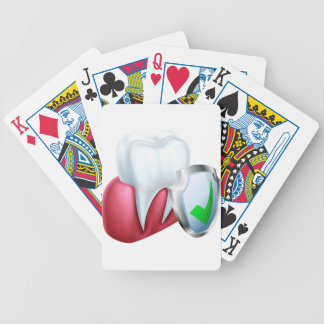Shield Tooth and Gum Bicycle Playing Cards