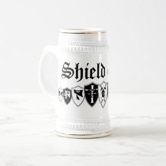 Shield Wall Beer Stein